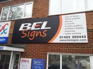 BEL Signs - Fascia image