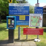 Car Park Sign for Horsham district Council