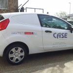 Case Electrical Van