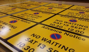 Correx Temporary Traffic Signs