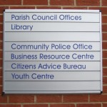 Council Offices Sign