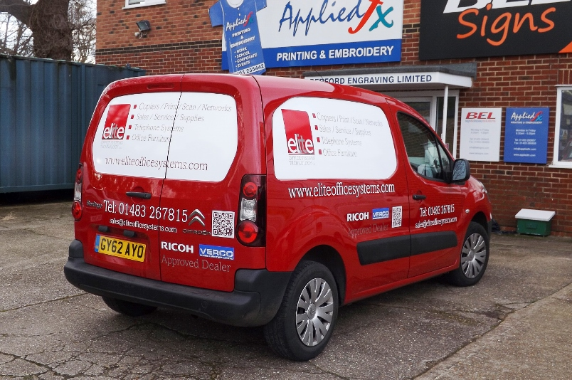 Elite Office Signwritten Berlingo
