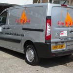 Fire Risk vehicle graphics