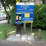 North street Horsham Car Park Sign