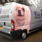 Paws Parlour Vehicle Graphics