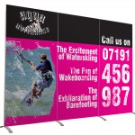 Stand alone pop up banner
