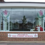 Window Graphics at The Forest School