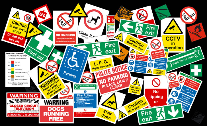 Health Safety Signs Health Safety Stickers