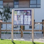 Notice boards can be used for directories