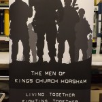 Band of Brothers Roll up Banner