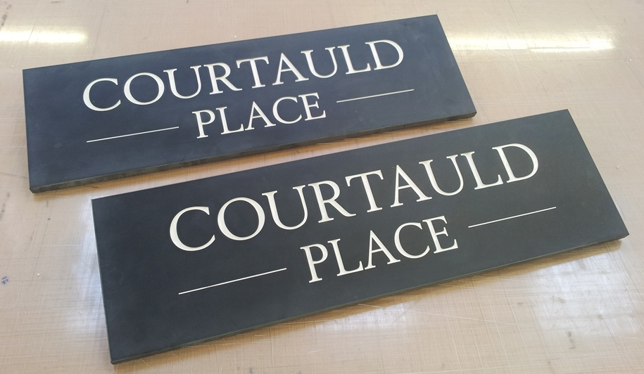 High Quality exterior slate signs