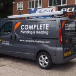 Complete Plumbing vehicle Graphics