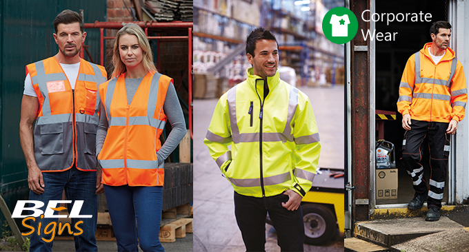 Various Hi-Vis Clothing available