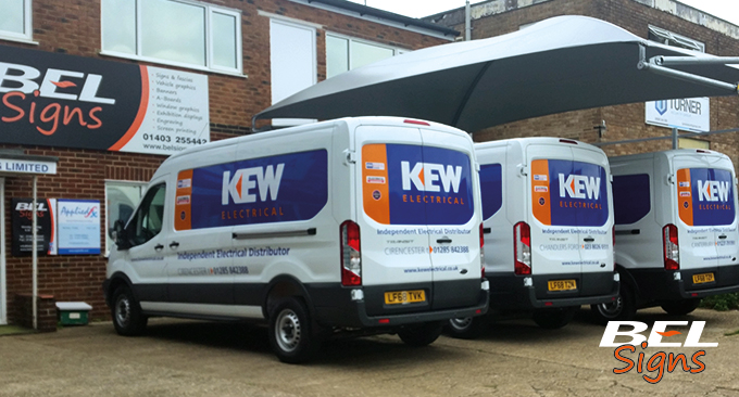 Fleet Graphics Van Signage
