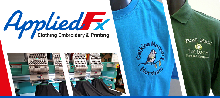 Appliedfx Clothing Embroidery and Printing
