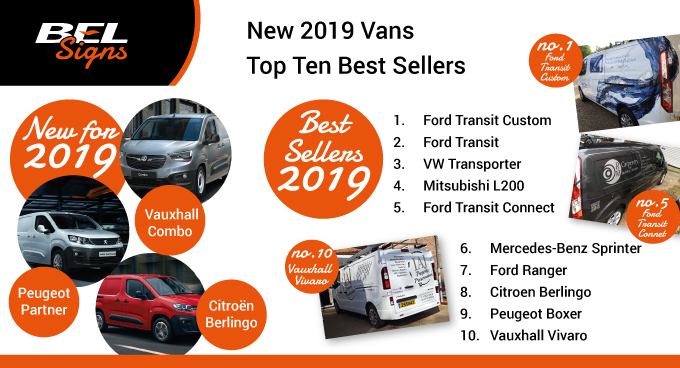 New 2019 Vans and best sellers