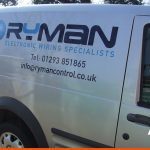 Ryman Control | Crawley Van Signwriting