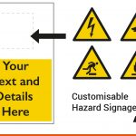 Customisable Hazard Signs for your business | BEL Signs