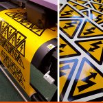 Large Format Printed Stickers for Health & Safety