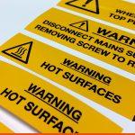 Warning Labels, Hazard Signs