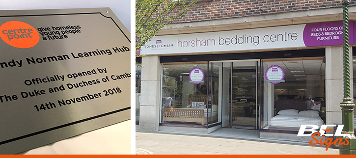 Products from BEL Signs | Plaques to Shop Fronts