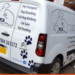 Citroen Berlingo for PCA with CAD Cut Vinyls