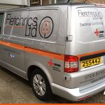 VW Transporter with Graphics for Fletchrics