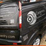 Transit Connect Van Graphics | Sign Company Horsham