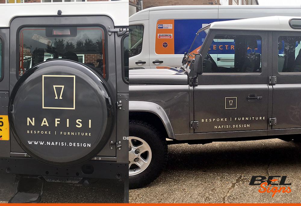 Vehicle Graphics | Van Graphics | BEL Signs Horsham