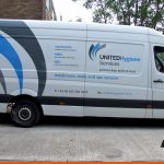 Long Wheel Based vans with large graphic | Slinfold | Van Signs