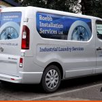 Panels wraps are a great option for coverage | Vauxhall Van Graphics