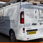 Vauxhall Vivaro | Two colour vinyl graphics