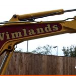 Plant diggers can be signwritten by BEL Signs