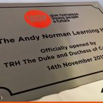 Brushed Stainless Steel Plaque