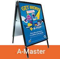 A-Master Pavement Sign | BEL