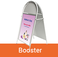 Booster Pavement Sign | BEL