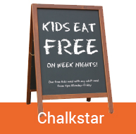 Chalk board Chalkstar | Pavement Signs