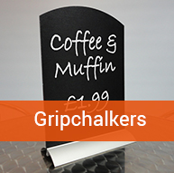 CripChalk Table Sign | BEL Signs