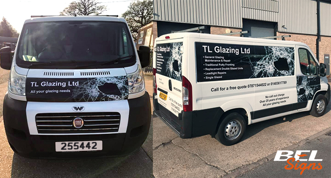 SWB Van Signwriting