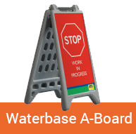 Water base A-Board | Pavement Signs