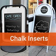 Chalk Inserts | BEL Signs