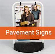 Pavement Signs | BEL Signs