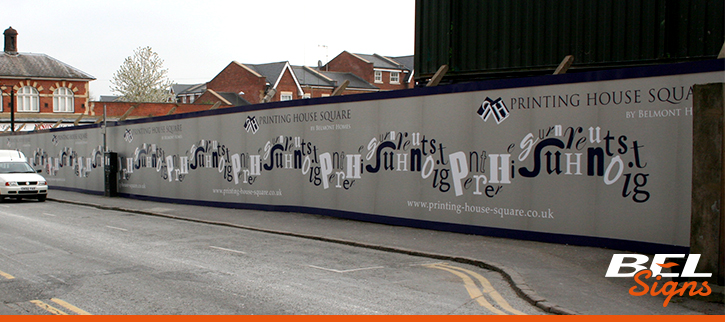 Printed Custom Hoardings