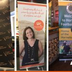 Promote your business or event with a roll-up banner