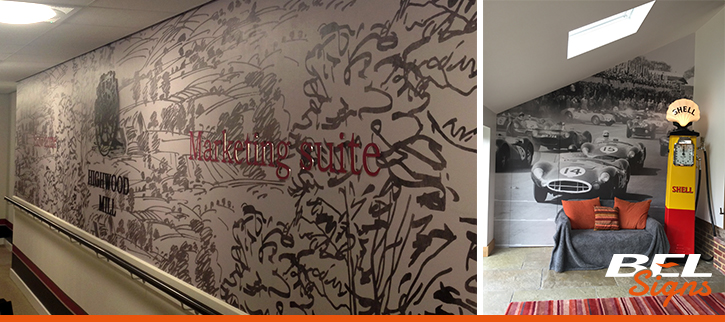 Bespoke Wallpaper Digitally Printed
