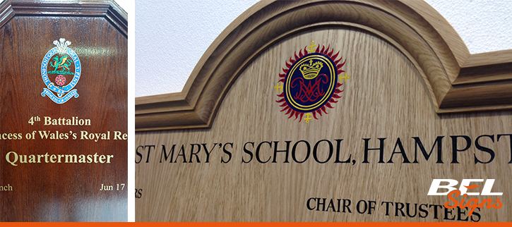 Honours Boards products from BEL Signs