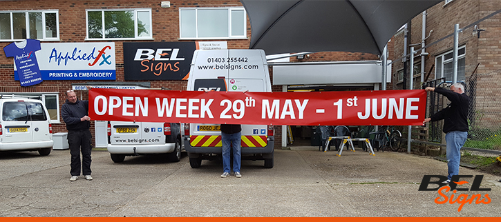 BEL Signs Banners