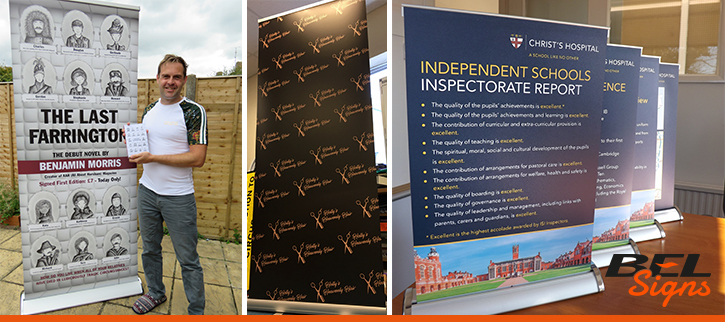 A Selection of Roll Up Banners