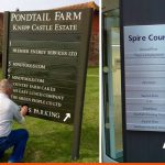 We manufacture external signs that can list businesses and update them when needed