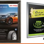 Poster frames in a range of sizes and colours